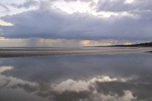 Rain over Fraser
