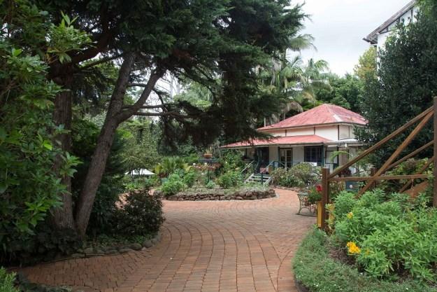 The garden St Bernard's