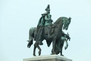 Kaiser Wilhelm I on his horse