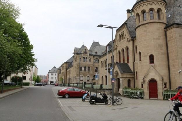 A Koblenz street