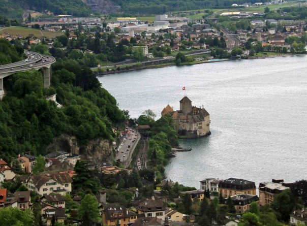 Chillon from above