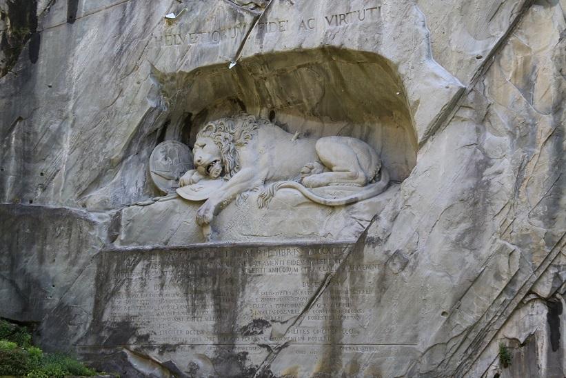 The fabulous lion monument