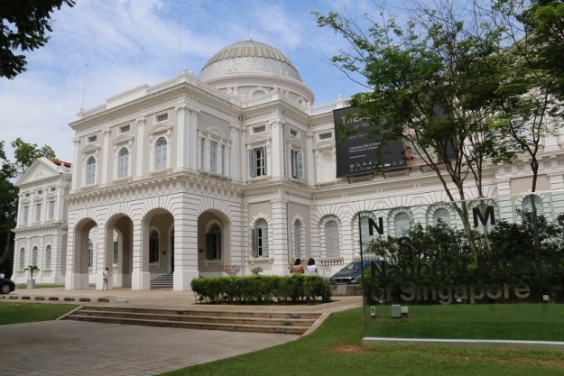 Singapore national museum on Stamford Rd.