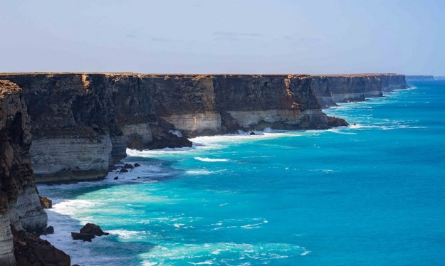 The cliffs of the Bight