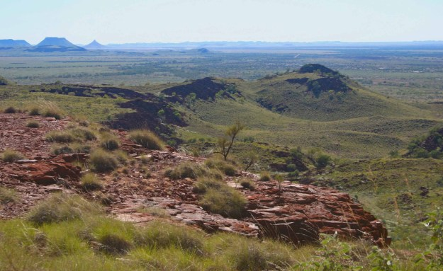 The Chichester Range in the Pilbara