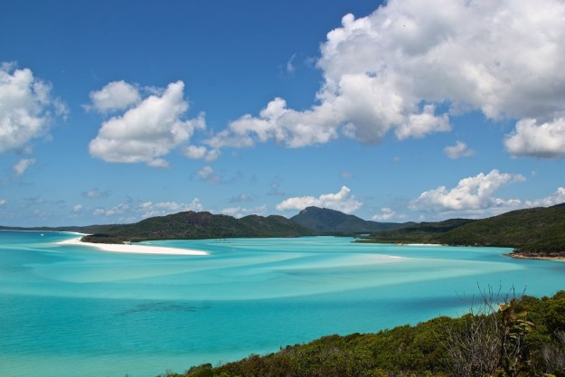 Whitehaven Beach on Whitsunday Island