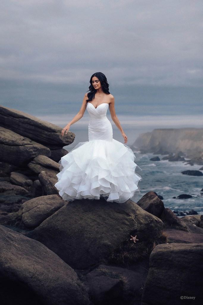 Disney princess wedding dress Ariel