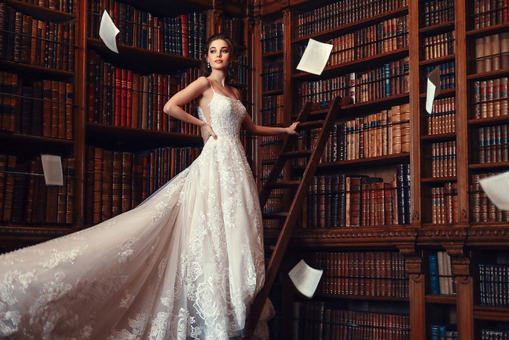 Belle disney bridal gowns