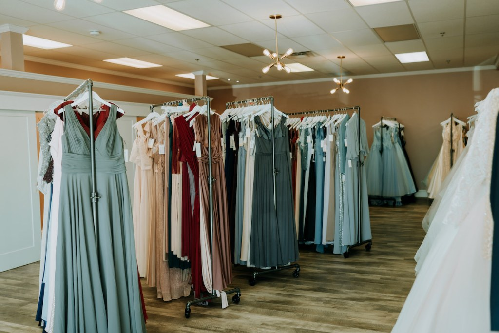 bridesmaids gowns at Gretchen's Bridal