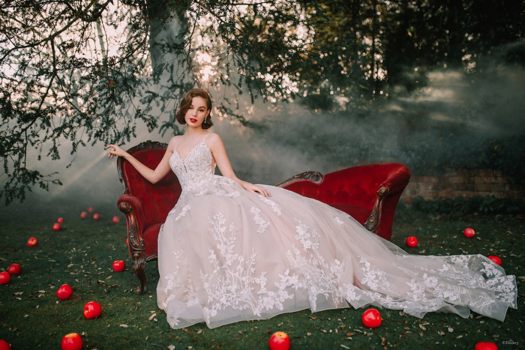 Snow white disney bridal gowns