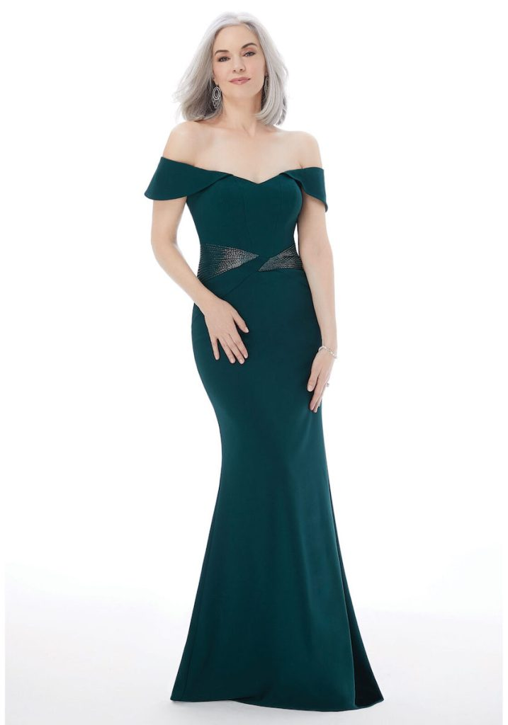 emerald Morilee formal gown