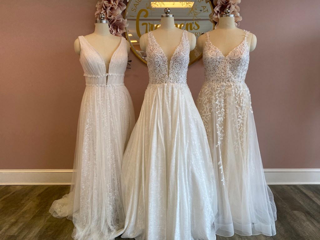 wedding dresses and wedding dress appointment