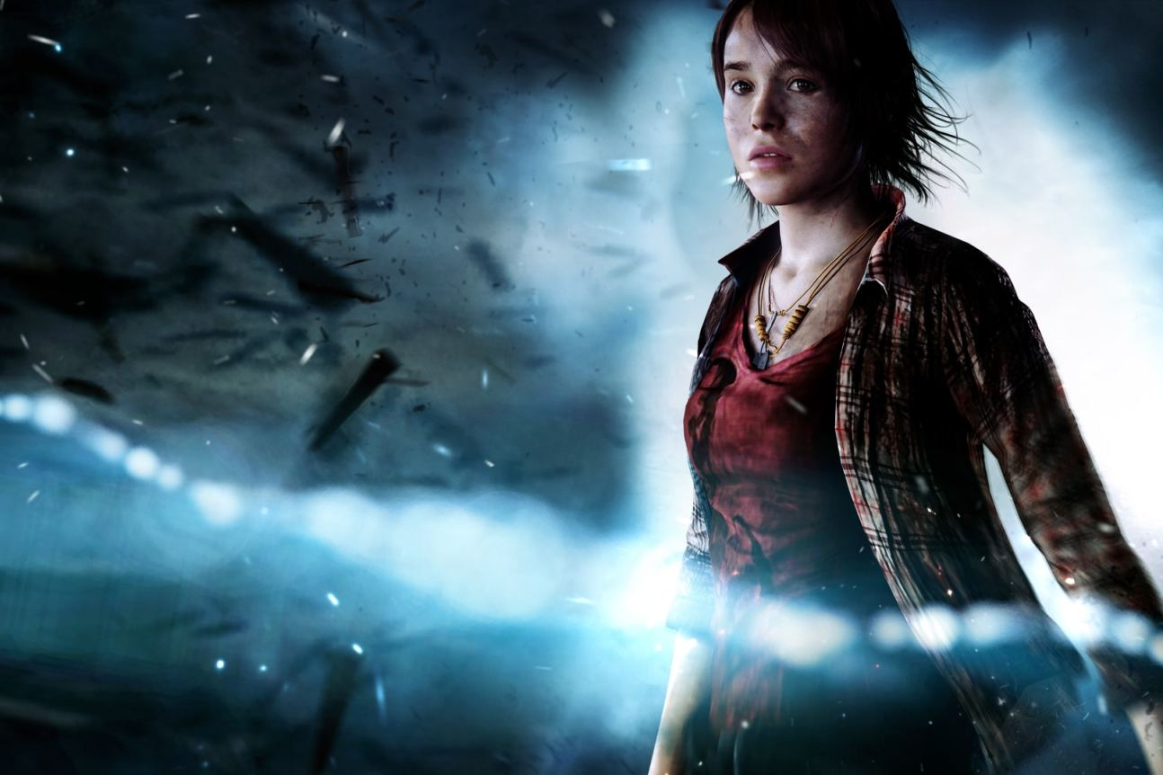 eyond two souls quantic dream ps4 jodie cover