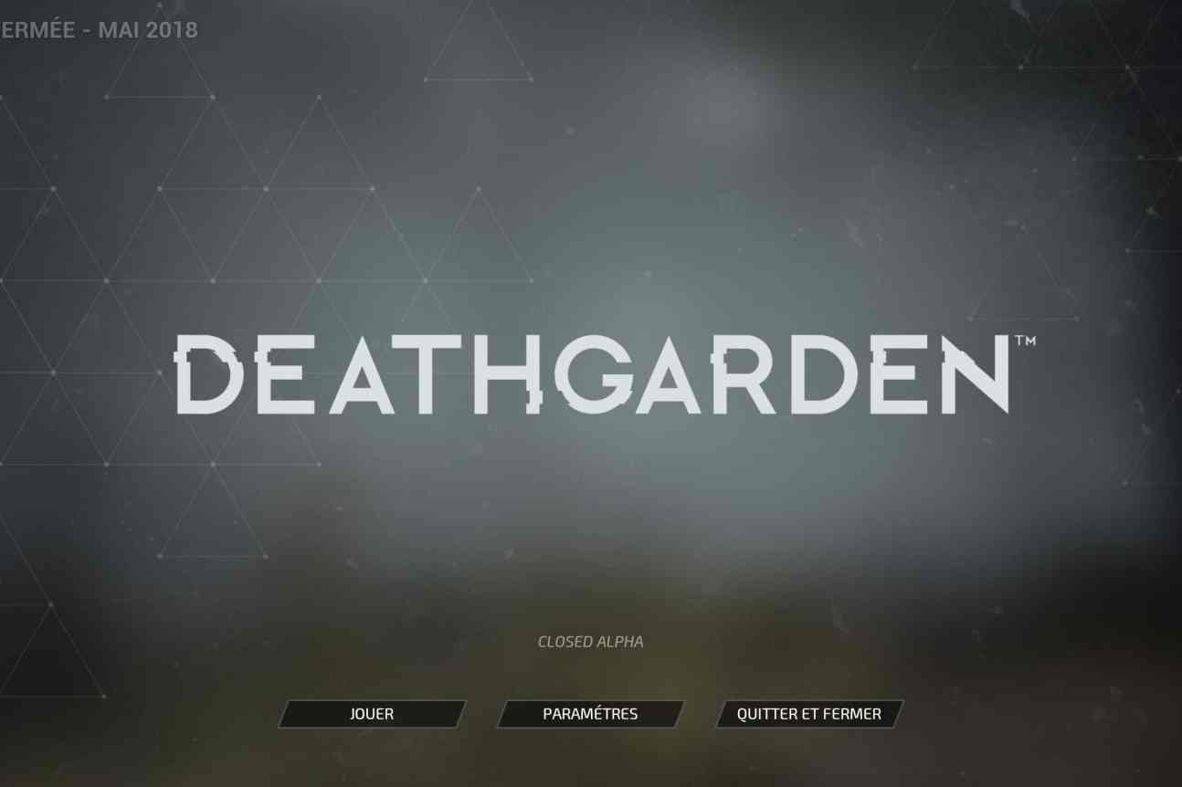 Deathgarden closed alpha Screenshot