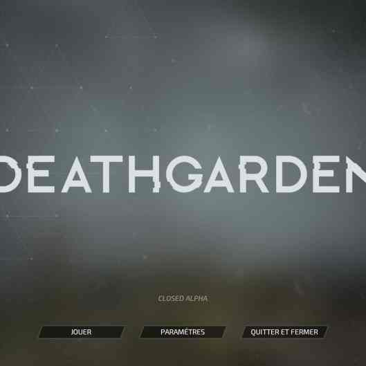 Deathgarden closed alpha Screenshot