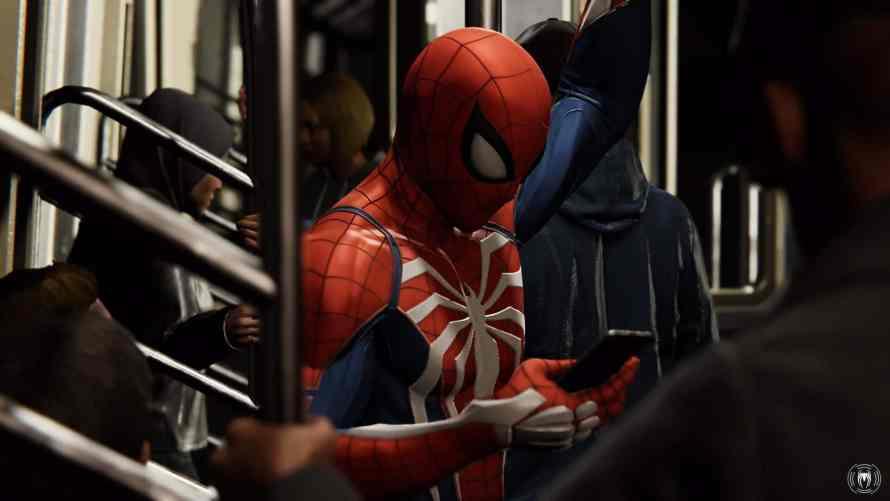 Marvel's Spider-Man screenshot test