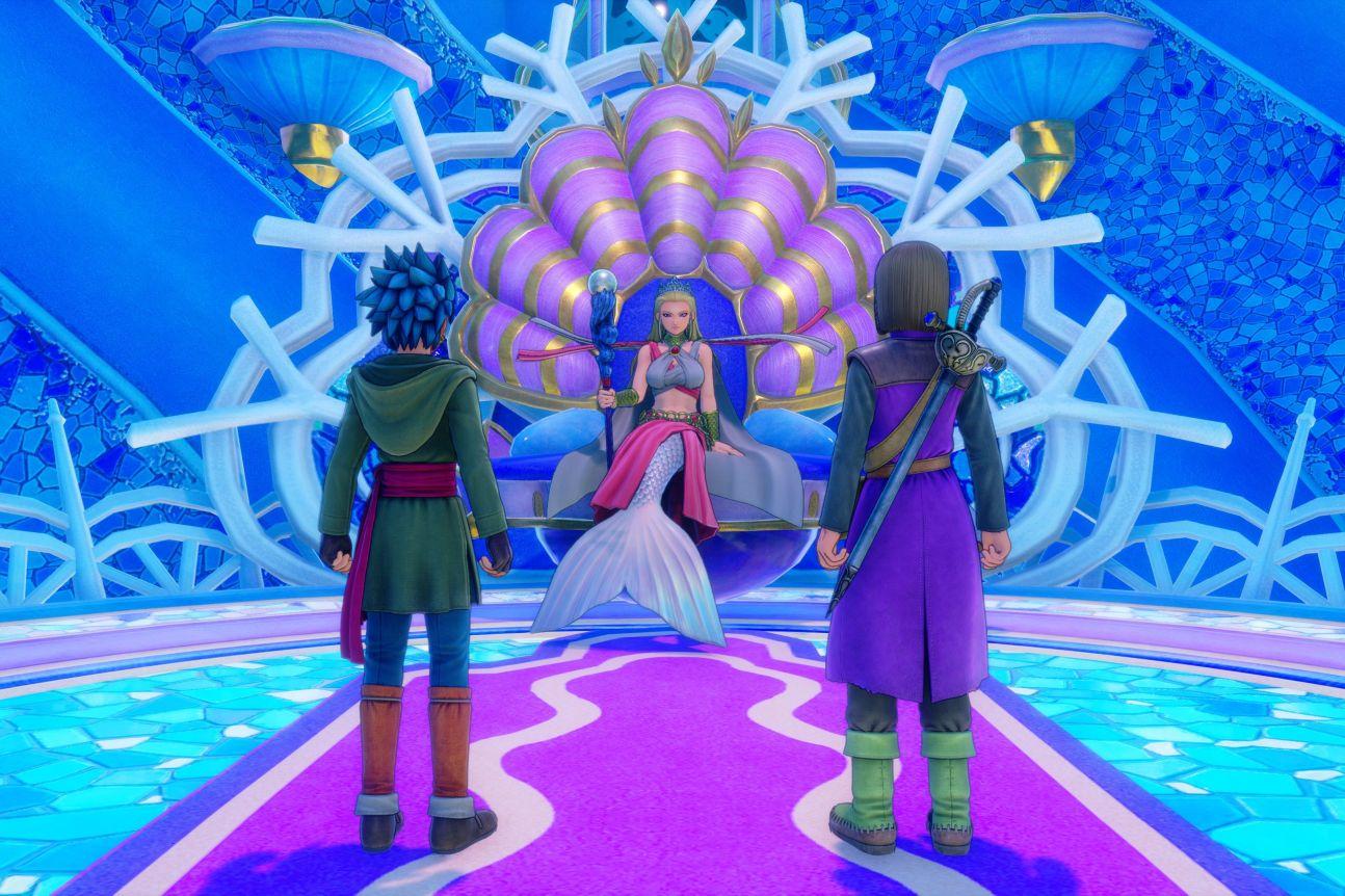 Dragon Quest XI Test screenshots