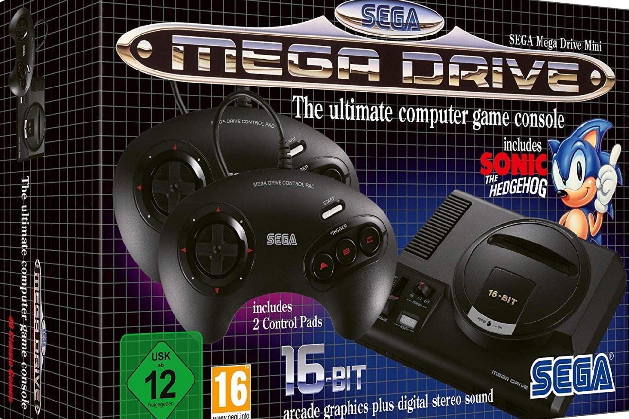 sega mega drive mini cover