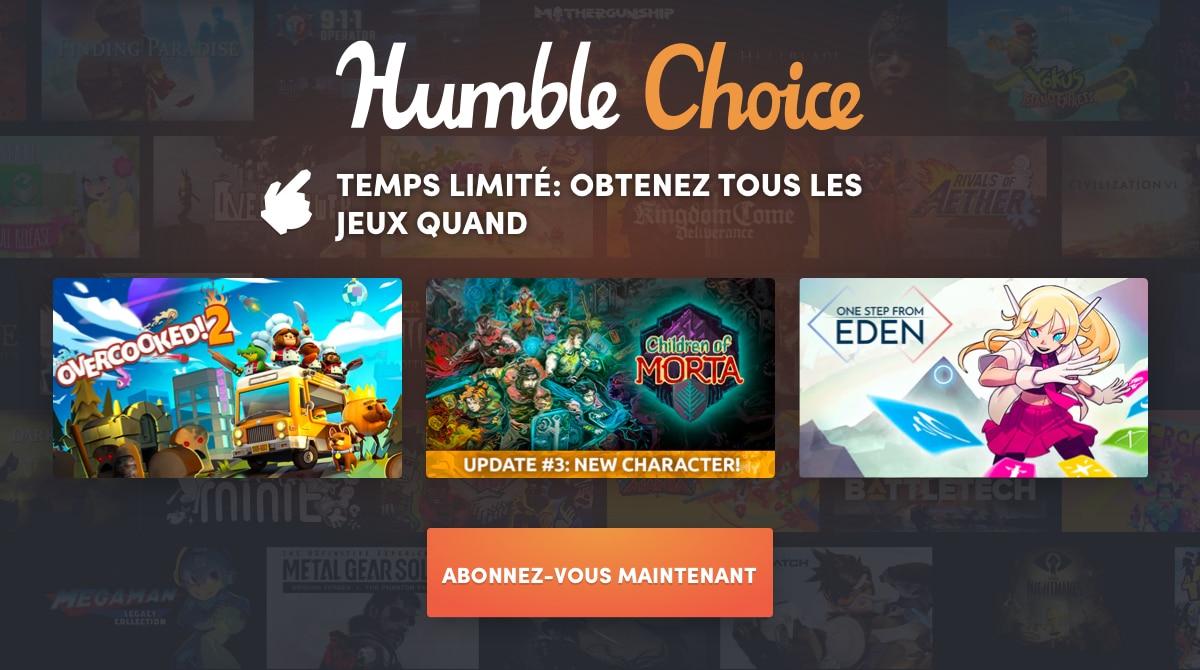 humble choice novembre 2020