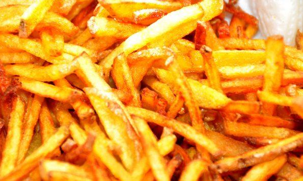 Kartoffelstäbchen