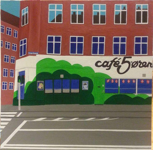 Stig Løvenkrands nr.211 Cafe 5 øren før åbningstid