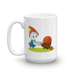Grewwit and the Giant Tomato Mug