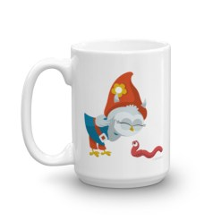 Grewwit and the Earthworm Mug