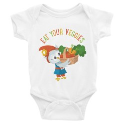 Grewwit Veggie Basket Infant Bodysuit