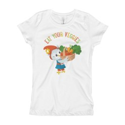 Eat Your Veggies Girl's T-Shirt