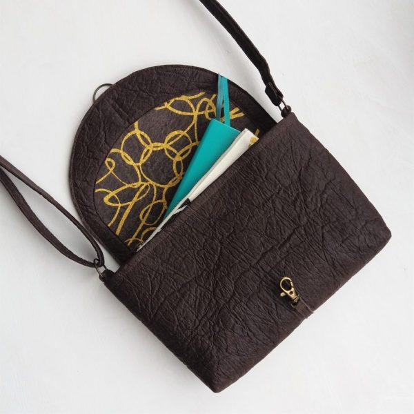 vegan crossbody handbag ethical sustainable