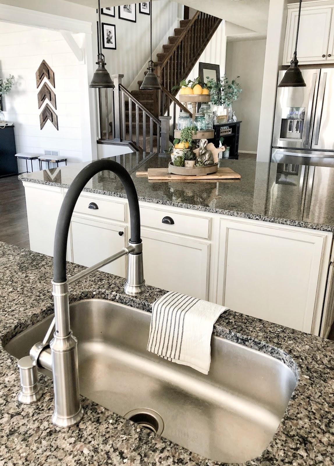kitchen faucet update grey birch designs