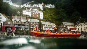 Clovelly lifeboat