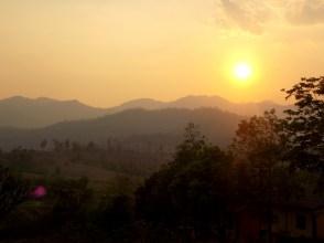 Sunset in Pai