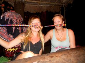 Goofing off at the bar - Taken by Zoe Gossage