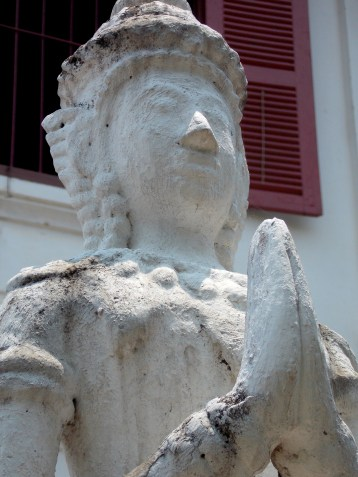 Statue at one of the temples