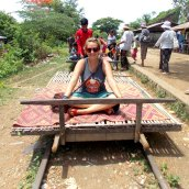 Bamboo Railroad - Battambang