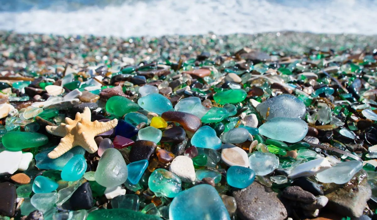 Awesome Treasure Hunting at Seaham Sea Glass Beach UK