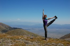 Yoga at the top!