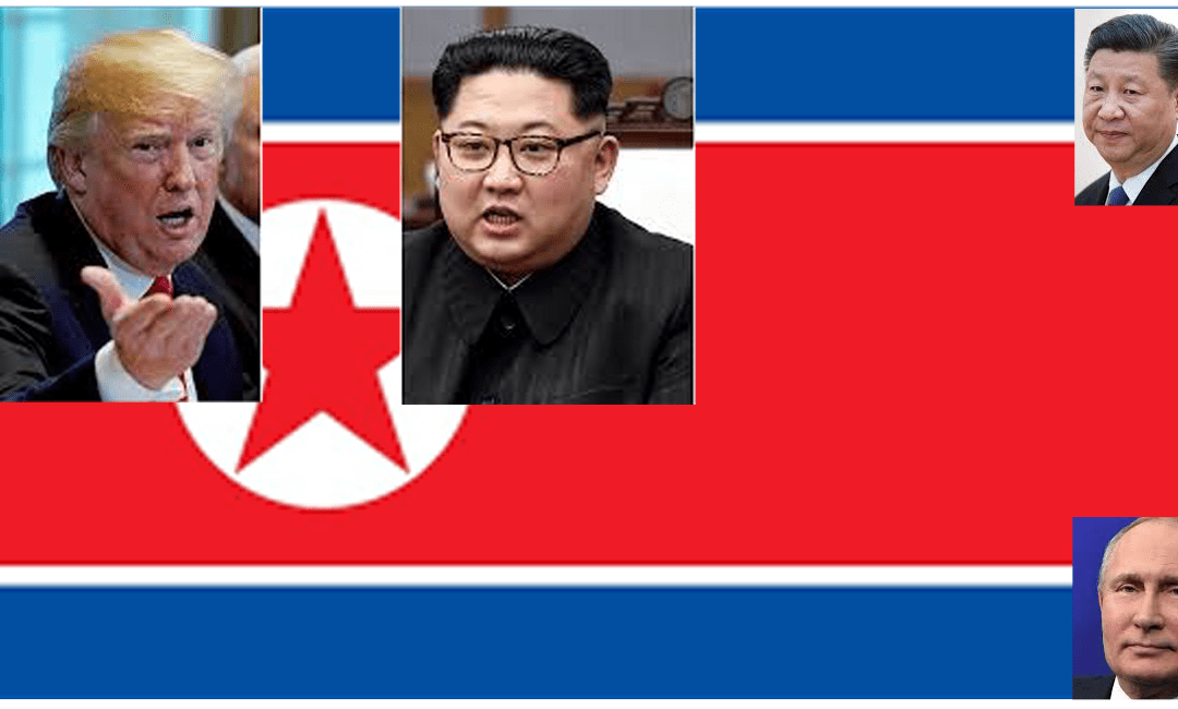 A game of Top Trump – Kim Jong Un wins…