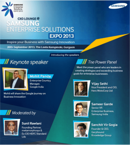 Samsun Enterprise Solutions Expo 2013