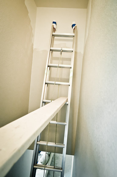 Superb Step 3. Lean Ladder Against Far Wall And Double Check All Ladder Safety  Devices Are Set.