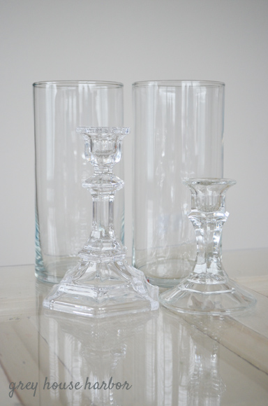 dollar store candle holders  |  greyhouseharbor.com