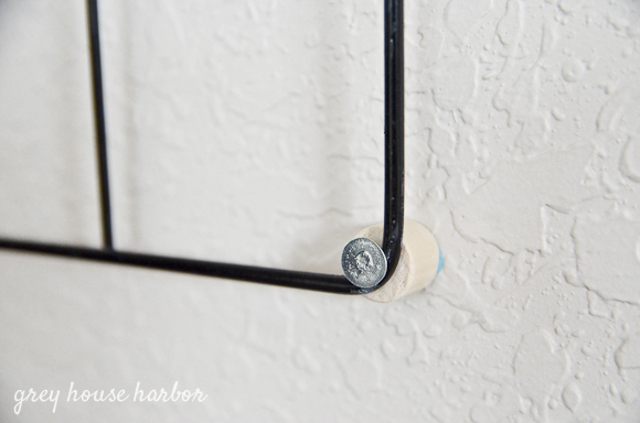 diy crib bed frame photo holder greyhouseharbor.com