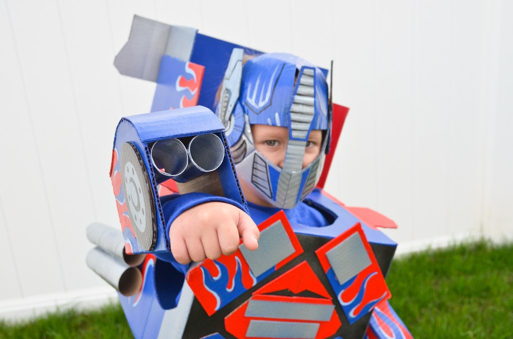 Optimus Prime Transformers Costume : Cardboard | greyhouseharbor.com
