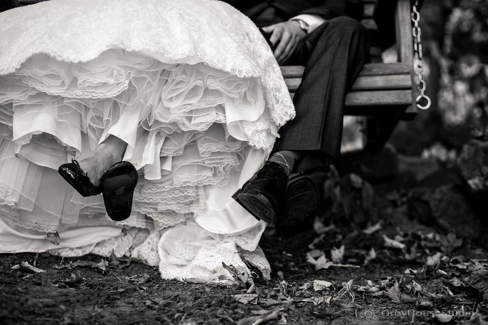 priam vineyards wedding photos bride dress groom shoes detail