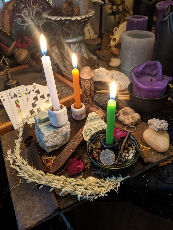 Weekday Rituals - Combined Blessing Services - Prosperity - Protection - Love - Banishing - Justice - Career Success - Luck - Psychic Power