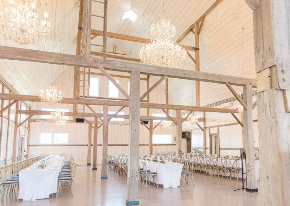 Stonefields Weddings and Events Interior - Ottawa Wedding Venue - Modern & Rustic Wedding Venue