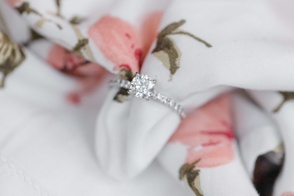 Engagement Ring - Styling During Engagement Session
