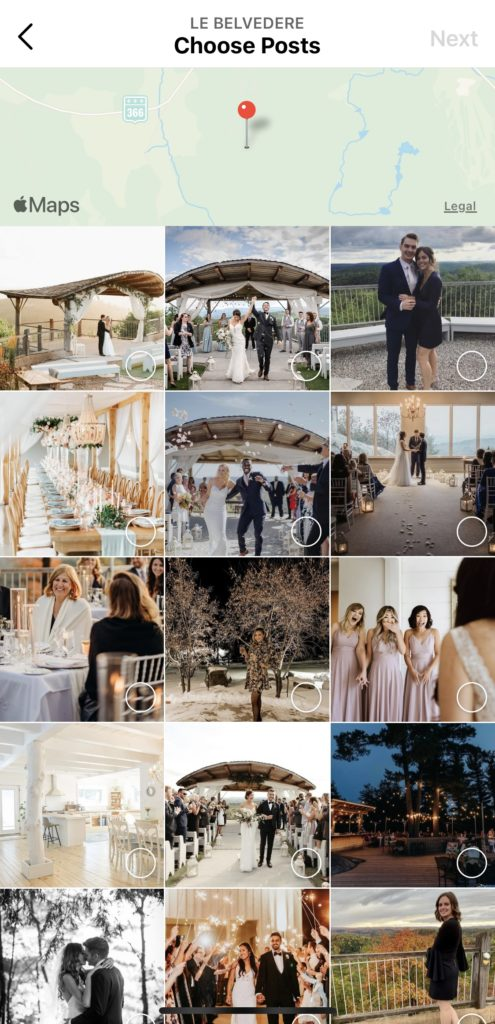 Using Instagram Guides to Grow your Business - Instagram business - weddings - florists - Ottawa venue - Ottawa Wedding venues - local florists - wedding dress - instagram reels - how to create guides - how to use insta - adding locations - location - location guides