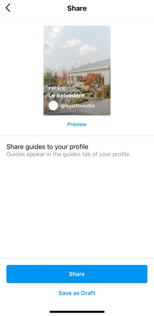 Using Instagram Guides to Grow your Business